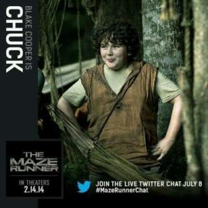 Chuck's Thomas' sidekick
