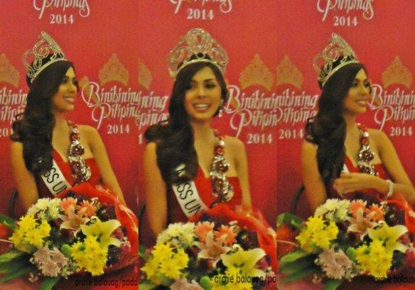 """Mary Jean """"MJ"""" Lastimosa, Miss Universe Philippines 2014 lookig like a goddess!"""