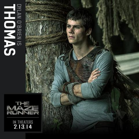 Dylan O'Brien will be playing the lead role, Thomas