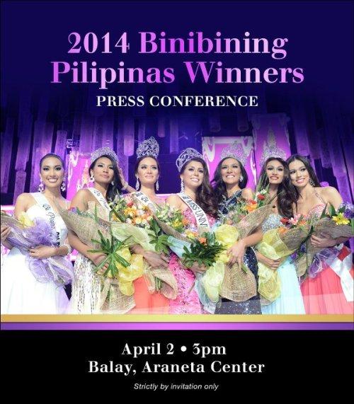 winners presscon invites