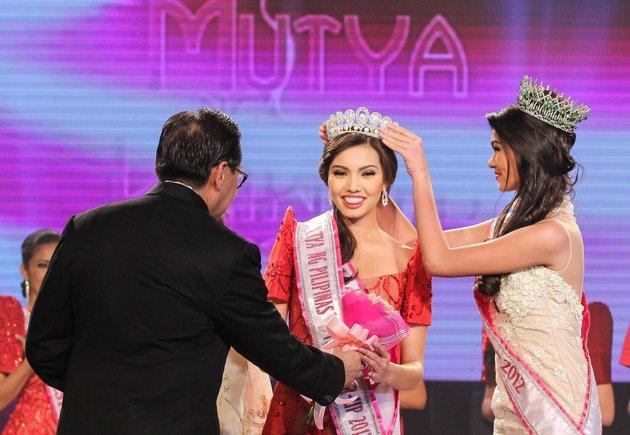 Maureen during the Mutya Ng Pilipinas 2013
