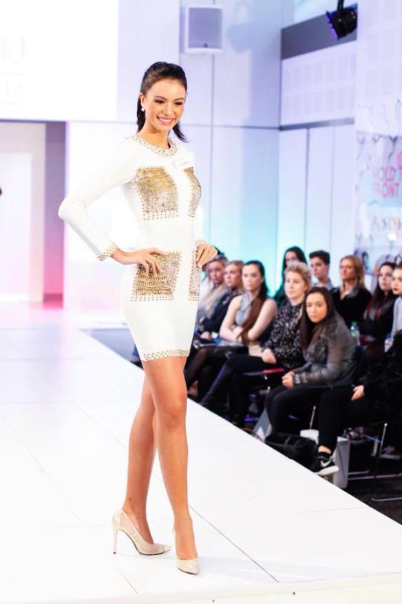 Val during the Top Model Event
