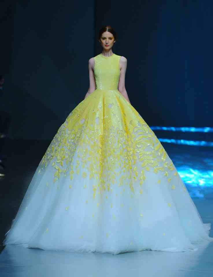 Miss world 2014 journey philippines bet valerie weigmann for Can a yellowed wedding dress be whitened