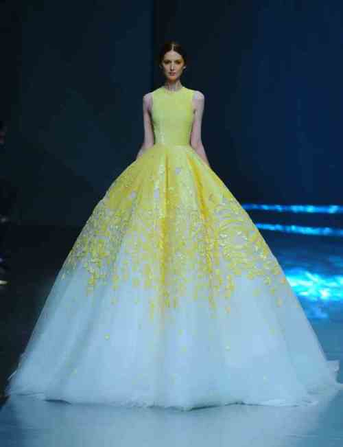 Valerie's Gown from Michael Cinco