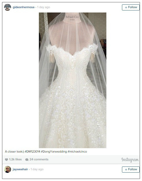 The Royal Bride Marian Rivera S Wedding Gown Paddylast Inc