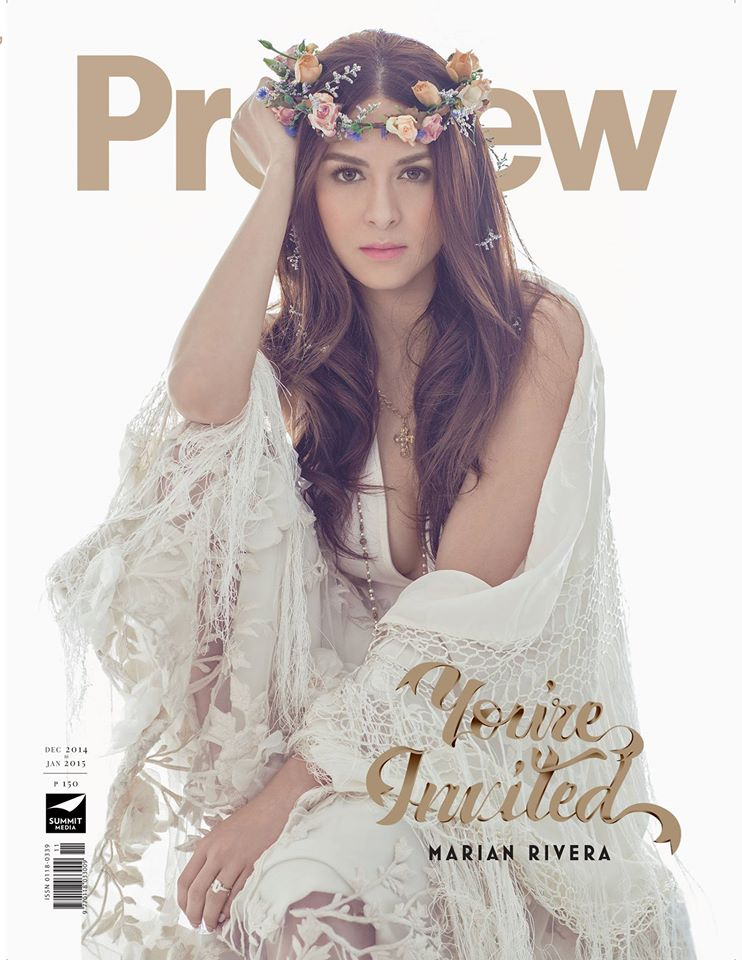 The Royal Bride Marian Rivera In 4 Preview Magazine Covers