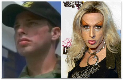 Alexis Arquette before and after.