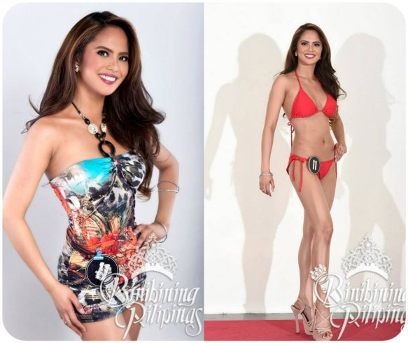 Binibining Pilipinas 2012 First Runner-up and Miss Grand International 2013 Third Runner-up Annalie Forbes