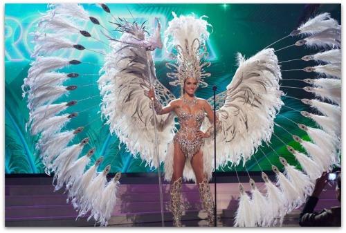 Miss Argentina Valentina Ferrer