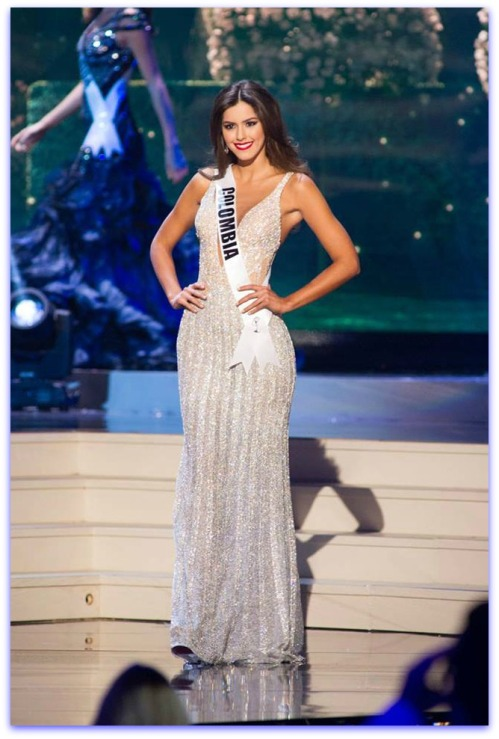 3rd Runner up - Colombia - Paulina Vega