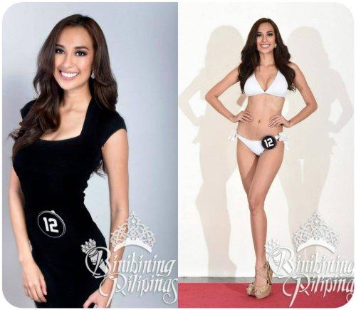 Binibining Pilipinas 2013 candidates and Binibining Pilipinas 2014 2nd Runner-up Hannah Ruth Sison