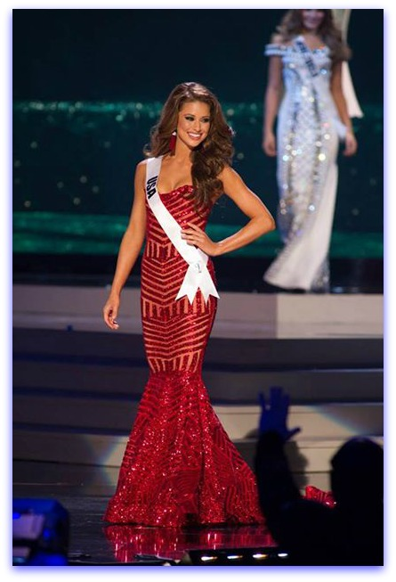 1st Runner up - USA - Nia Sanchez