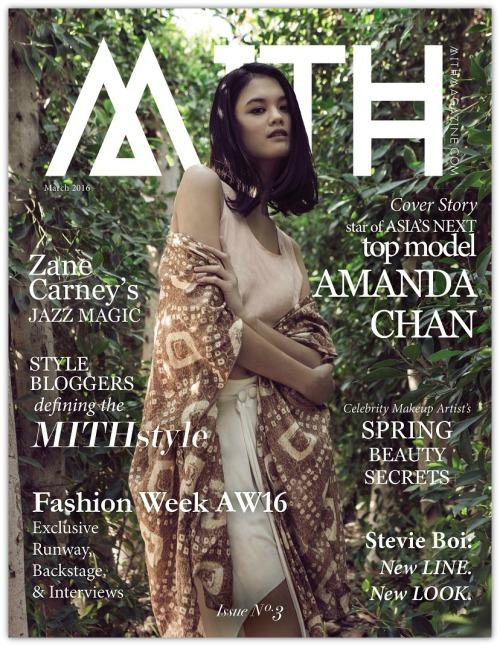 Amanda Chan On Mith Magazine