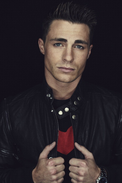 "SAN DIEGO, CA - JULY 26: In this handout photo provided by Warner Bros, Colton Haynes of ""Arrow"" attendss Comic-Con International 2014 on July 26, 2014 in San Diego, California. (Photo by Smallz+Raskind/Warner Bros. Entertainment Inc. via Getty Images)"